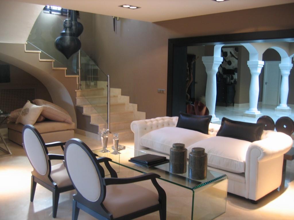 Marbella proyectos de dise o y decoraci n de interiores gema arana - Proyecto de decoracion de interiores ...